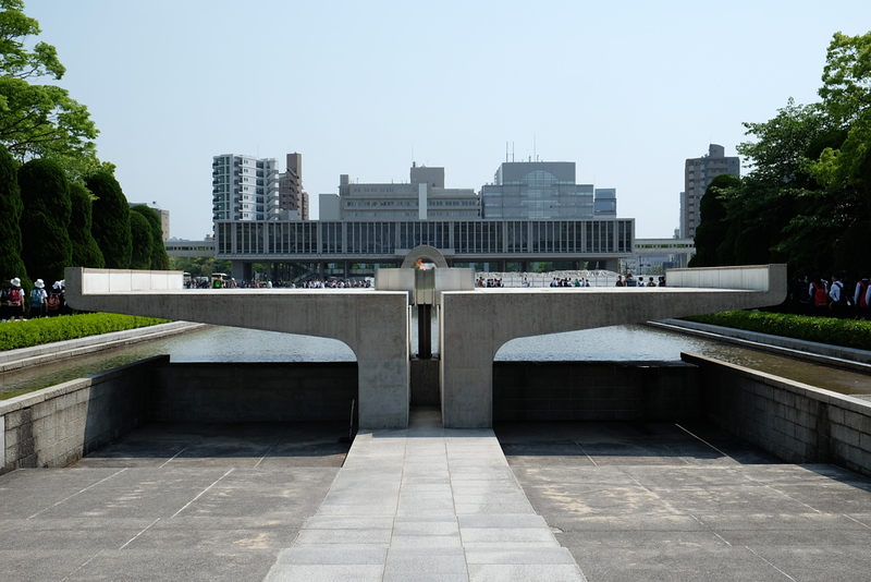 The Peace Flame in Hiroshima Memorial Park