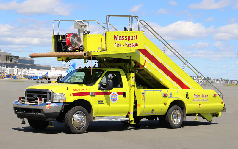 Stair Truck 1.  2001 Ford F-450 / Access Air Systems