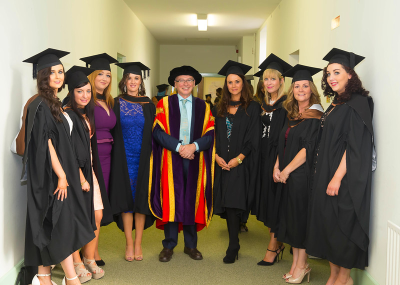 29/10/2015. Waterford Institute of Technology conferring. Pictured are  WIT President Prof Willie Donnelly, . Picture: Patrick Browne