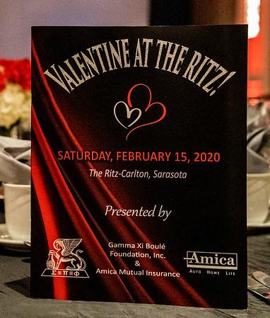 Gamma Xi Boule Foundation, 2020 Valentine At The Ritz!