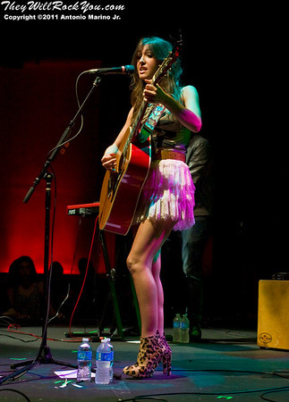 Kate Voegele <br> October 12, 2011 <br> Highline Ballroom  - NYC, NY <br>  Photos by: Antonio Marino Jr.