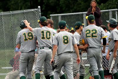 2012 BBA Varsity Baseball Playdown vs Mill River photos by Gary Baker