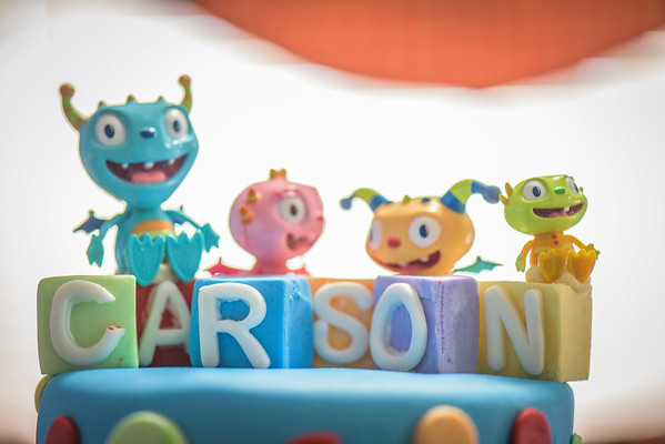 Carson's First Birthday Party