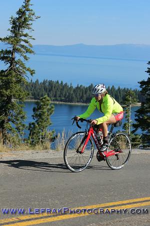 Lake Tahoe Triathlon 2014 Olympic and Half Bike