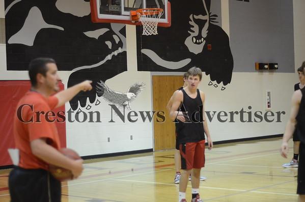 11-14 Creston Boys BB practice