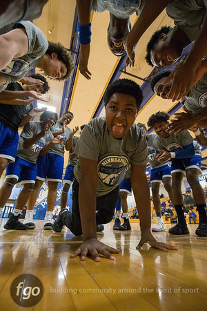 3-11-17 Hope Academy v Minneapolis North Boys Basketball Section 4AA Quarterfinals