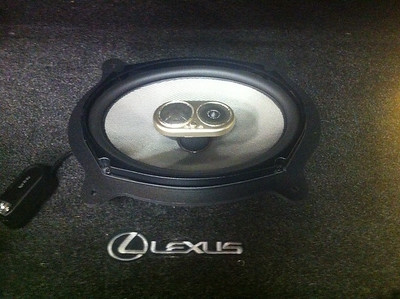2002 Lexus IS300 Rear Deck Speaker Installation - USA