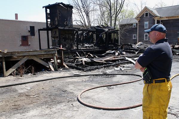 Sherman Street fire Gardner aftermath