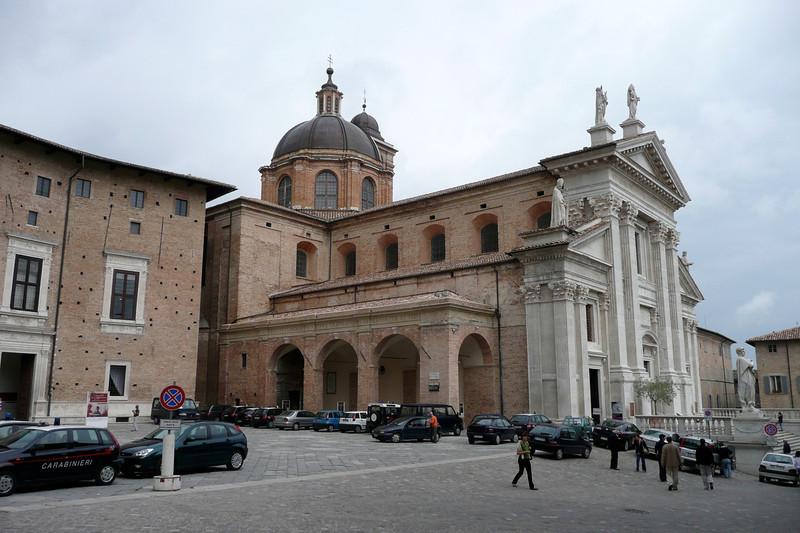 Cattedrale. Urbino, Marche