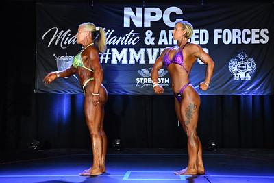 Women's Bodybuilding & Physique Comparisons & Awards