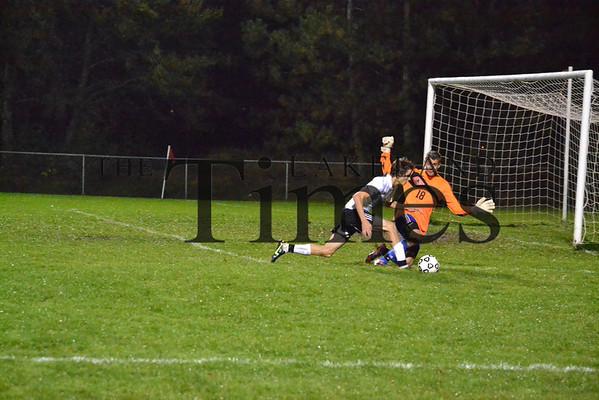 Lakeland Soccer vs. Northland Pines