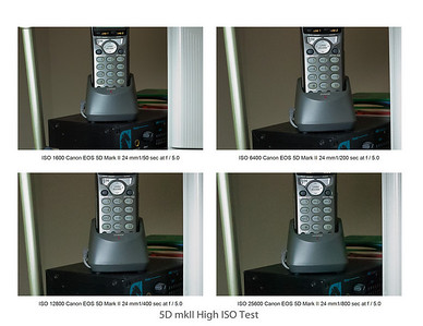 High ISO tests
