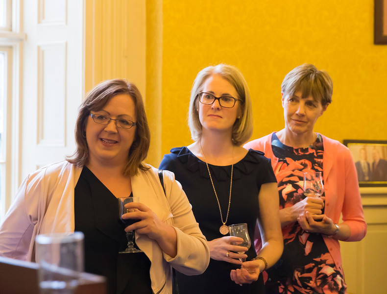 18/05/2016. Irish Accounting & Finance Accociation Annual Conference at WIT (Waterford Institute of Technology). Pictured at The Mayor's reception. Picture: Patrick Browne