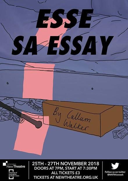 Esse SA Essay poster