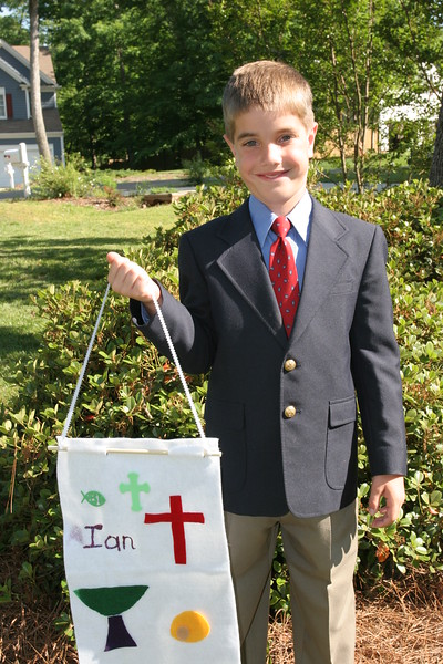 Ian's First Communion