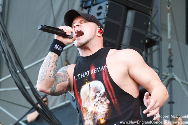 All That Remains at Rise Above Fest 2017 Bangor - ME
