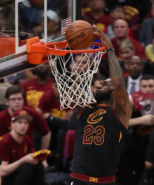 . Tim Phillis - The News-Herald Photos from Cavaliers vs. Pacers Game 5 on April 25 at Quicken Loans Arena.