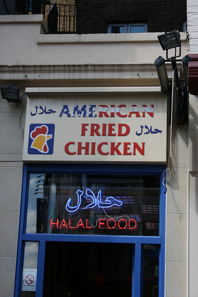 Halal American Fried Chicken.