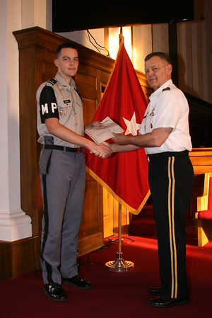 Character Cadet of the Month - Adams
