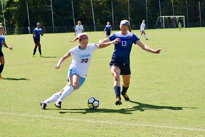 UNC Womens Soccer 09/30/17