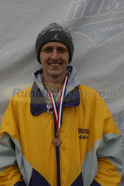Individual Awards, D4 BOYS - 2017 MHSAA LP XC FINALS