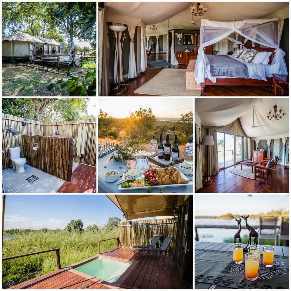 Zimbabwe Safari - Imvelo Zambezi Sands - Lina Stock