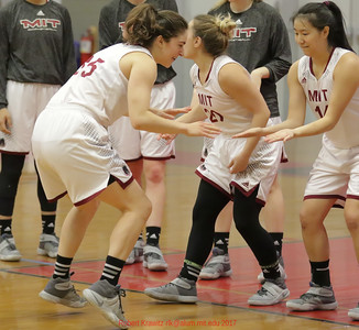 MIT-Wellesley Women's Basketball Jan. 14, 2017