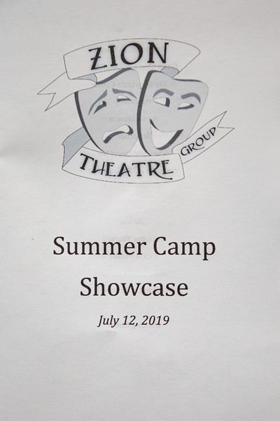 2019-07-12 Summer Camp Showcase