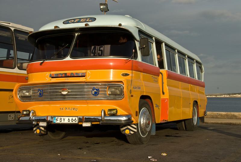 Old Bus, Valletta, Malta