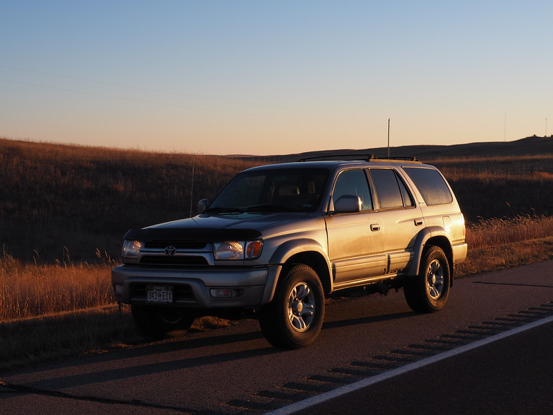 2002 Toyota 4 Runner with 326,000 miles.