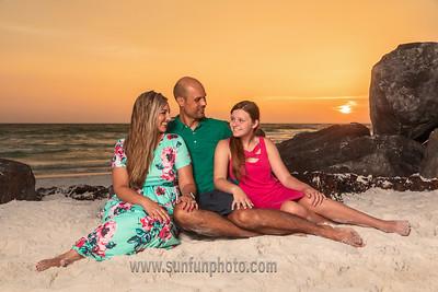 Epley Family - Panama City Beach - Sun Fun Photo