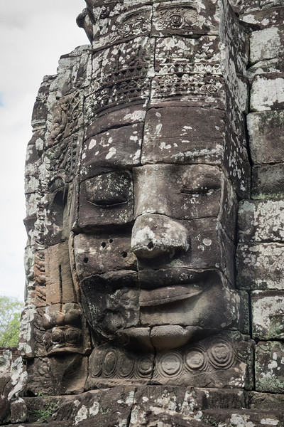 Strong face at Angkor Thom