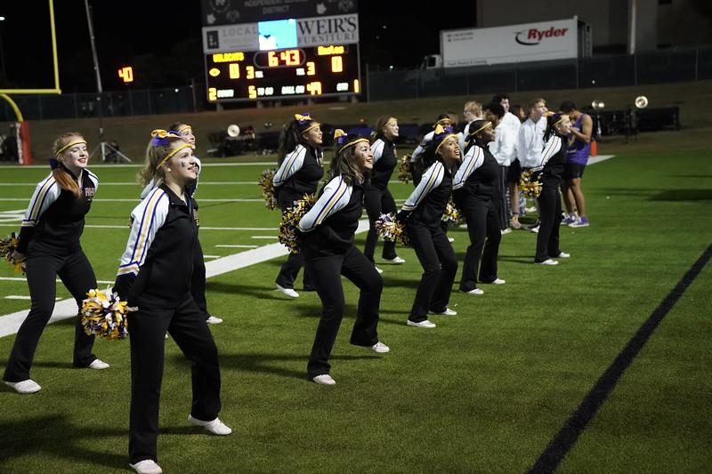 Richardson High School Cheerleaders