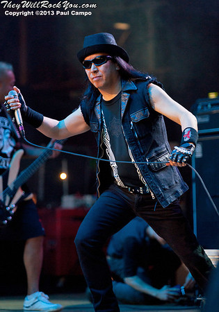 Loudness <br> May 4, 2013 <br> M3 Rock Festival - Columbia, MD <br> Photos by: Paul Campo