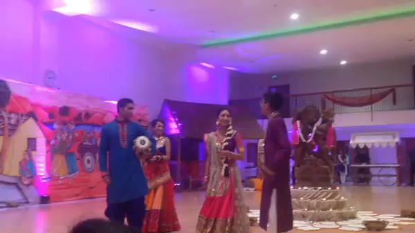 Pooja Garba Dance