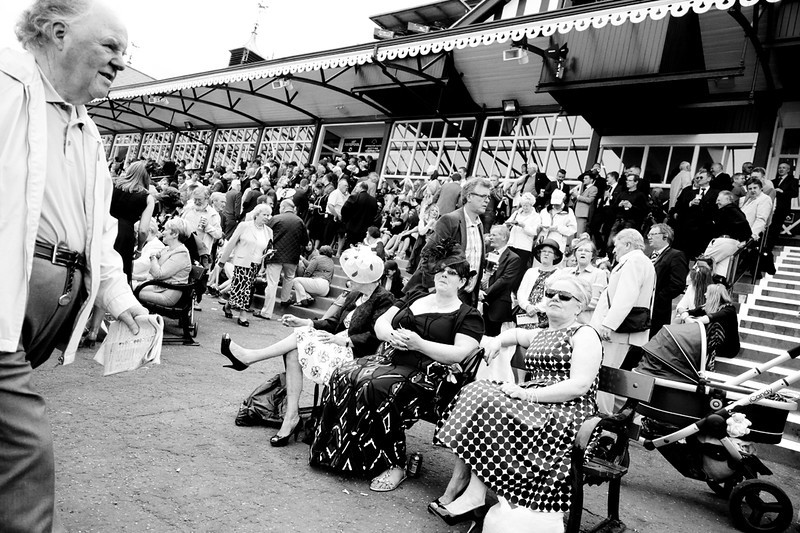 Ladies Day at Musselburgh Races - Shooting from the Hip