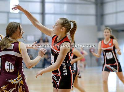 2021 Netball 15 & Under - Qualifying Final v Border Districts