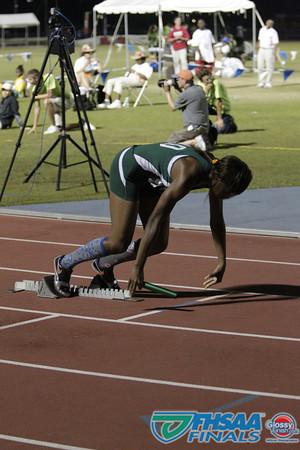 Class 3A - Running Event Finals - Girls 4X400m Relay - Section 2