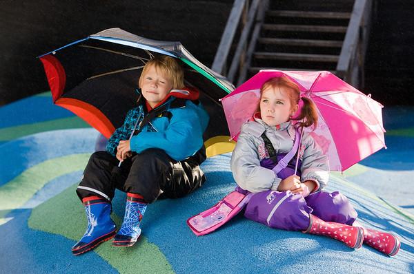 Laste vihmariided