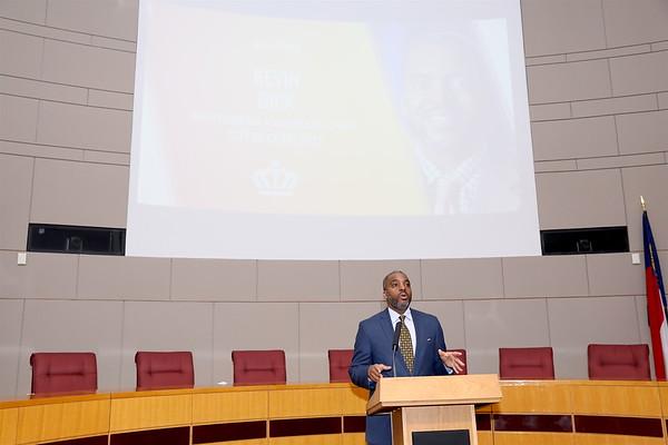 2019 Black Enterprise Summit FWD press conference in Charlotte, NC.