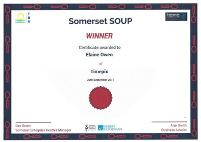 September 2017 - Timepix wins over the Soup Dragons