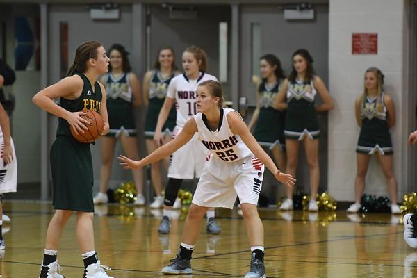 Varsity Girls Basketball vs Pius x