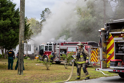 Structure Fire - 17852 Normandeau Rd Shady Hills Fl - 03/06/21