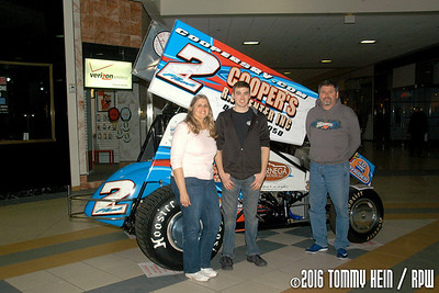 Clearview Mall - Lernerville Speedway - 3/19/16 - Tommy Hein
