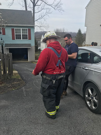 Summit Ave - Reported House Fire