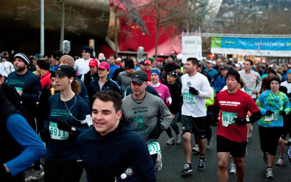 Seattle Marathon 2010