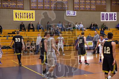 Boys Basketball vs Hughson 2017
