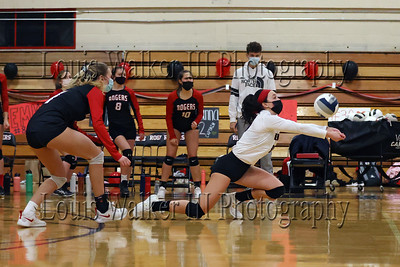 Volleyball Middletown at Rogers on 3/18/21