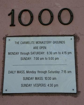Carmelite Monastery 90th Anniversary - Santa Clara Weekly