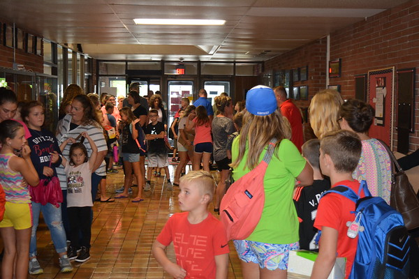 Open House and First Day of School